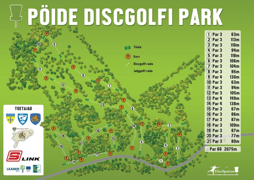Poide discgolf park
